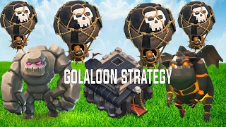 Clash of Clans ♦ TH9 GoLaLoon Strategy ♦ TH9 LavaLoon Attack Strategy 2017