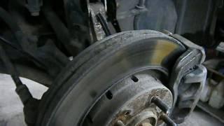 Mitsubishi Outlander - Замена амортизаторов, задних пружин и шаровой
