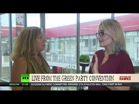 Tabetha Wallace & Margaret Flowers at the Green Convention!
