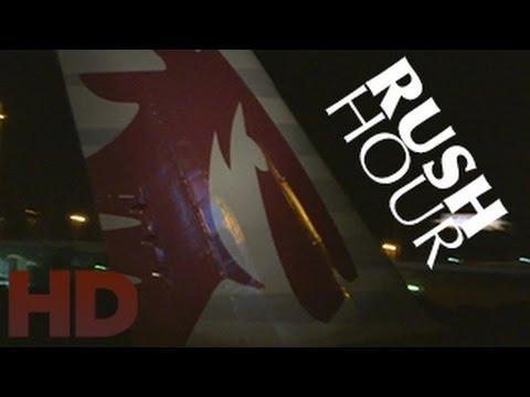 Qatar Airways ✈ Rush Hour | 1 Hour Plane Spotting HD 2014