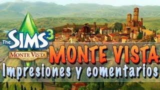 Los Sims 3 | Monte Vista: Opiniones, demostración y comentarios sobre el barrio