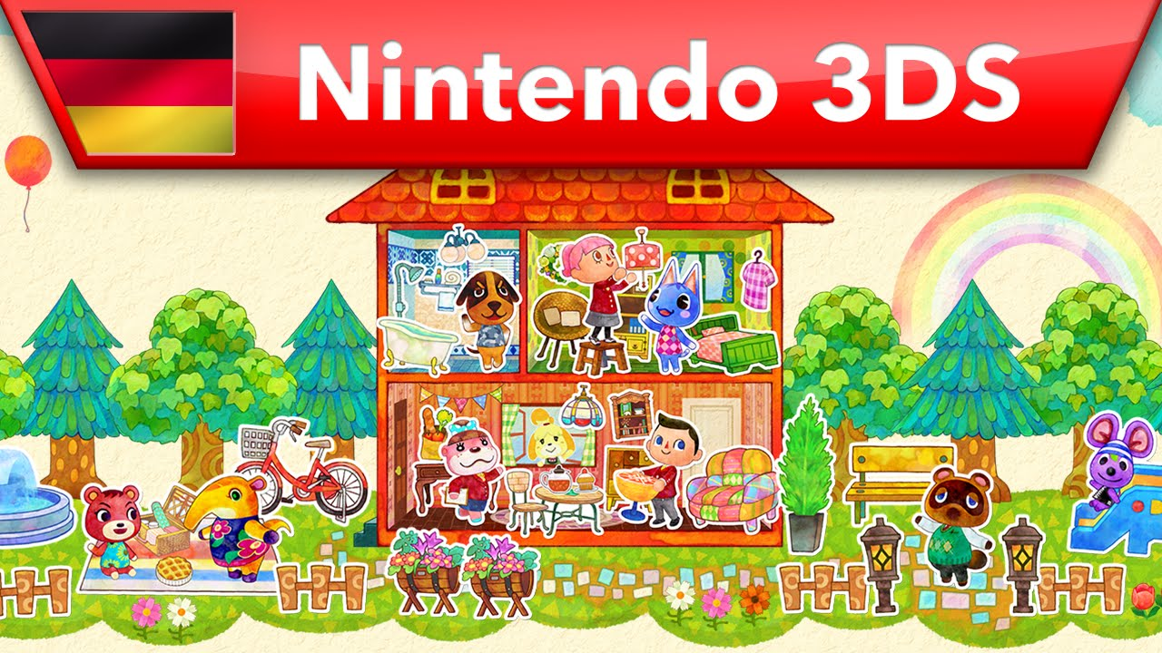 Animal Crossing: Happy Home Designer - Veröffentlichungsvideo (Nintendo 3DS) - YouTube