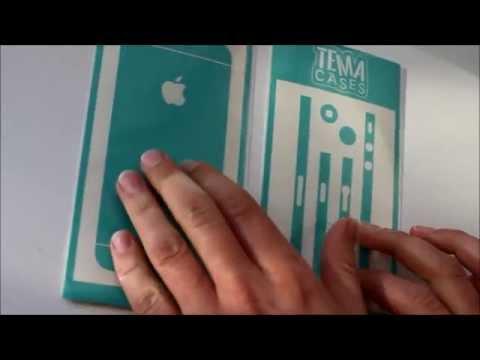 Клеим виниловые пленки на iPhone за 5 минут  | TEMACASES ©