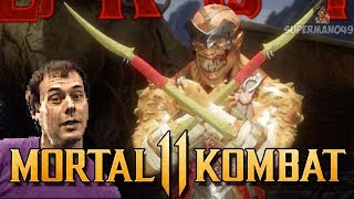 "BARAKA WITH THE DISRESPECTFUL D2 BRUTALITY - Mortal Kombat 11 Online Beta: ""Baraka"" Gameplay"