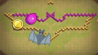 Clash of Clans Town hall 6 farming base(Batman)-Speed build
