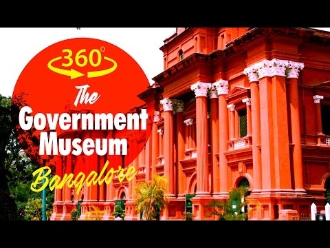 Government Museum Bangalore - Art & Archaeology Museum Bengaluru 360° 4K Video