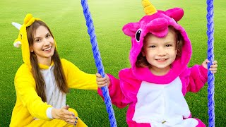 Outdoor playground song | Nursery rhyme song by Tim and Essy
