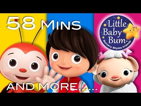 Thumbnail: Happy Songs | Plus Lots More Nursery Rhymes | 58 Minutes Compilation from LittleBabyBum!