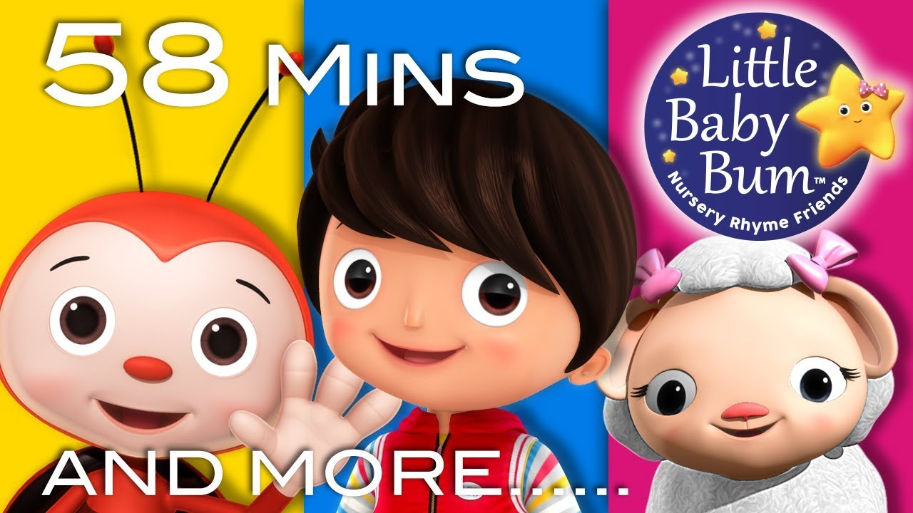 Happy Songs Plus Lots More Nursery Rhymes 58 Minutes Compilation From Littlebabybum