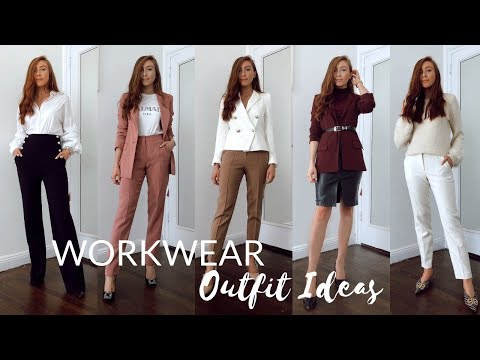 5 WORKWEAR OUTFIT IDEAS | How to look stylish at work