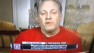 Curt schilling speaks on 2013 Baseball Hall of Fame