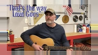 minthillbilly sings that s the way love goes by merle haggard cover