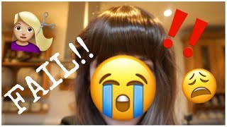 A FULL FRINGE DOESN'T SUIT ME OMG | WEEKLY VLOG TWO
