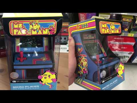 Ms. Pac-Man Micro Player By My Arcade - Overview