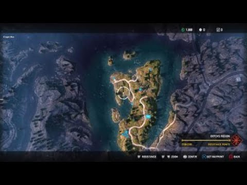 Far Cry 5 Map Size Youtube