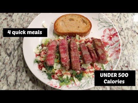 8 Healthy Single-Serving Meals Under 500 Calories