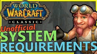 WoW Classic: Benchmarks, unofficial system requirements, and recommended PC builds