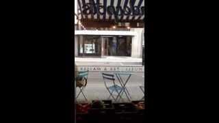 東ベルリンの銀座通り フリードリッヒ通り とっても美味しいヨーグルト屋さん!