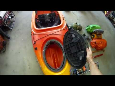 Packing a kayak for multi-day weekend trip