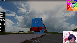 Gaming while LS ( Roblox Thomas & friends )