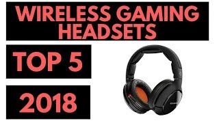 TOP 5: Best Wireless Gaming Headsets 2018