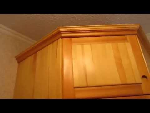 Угловой шкаф для белья.