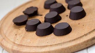 Диетические шоколадные конфеты с арахисовой пастой рецепт в домашних условиях