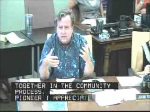 Gary Hooser Questions Chemical Ag Companies on Kauai