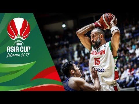 Fadi El Khatib's Game Highlights vs. Chinese Taipei (VIDEO) FIBA Asia Cup 2017