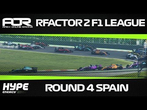 rFactor 2 - AOR Hype Energy Formula 1 2018 - Season 1 - Round 4 - Catalunya