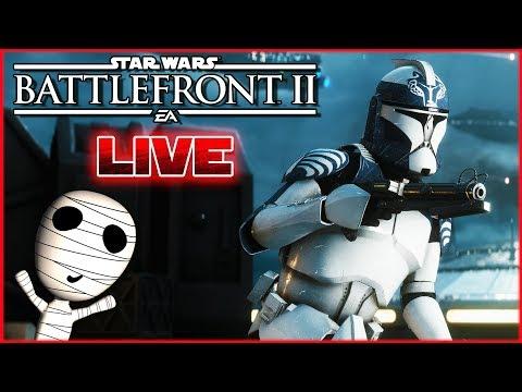 Für die Klon-Armee! 🔴 Star Wars: Battlefront II // PS4 Livestream thumbnail