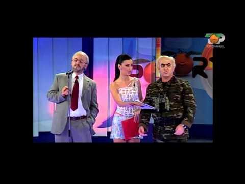 Portokalli, 5 Dhjetor 2004 - Alfred Moisiu & Amarda Toska (Skeci me Paraden)