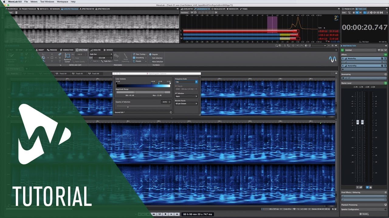 What is new in WaveLab 9 5 | Steinberg