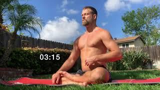 10 Minute Wim Hof Method Style Breathing Meditation