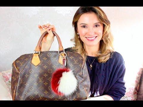 d83cdd752 Resenha bolsa Louis Vuitton - Speedy 30   Karla Keunecke - YouTube