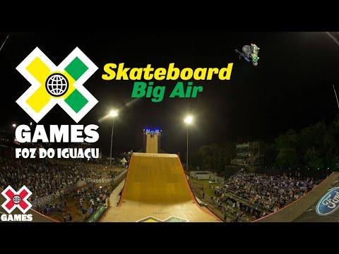 X Games Foz do Iguaçu 2013 Skateboard Big Air: X GAMES THROWBACK | World of X Games