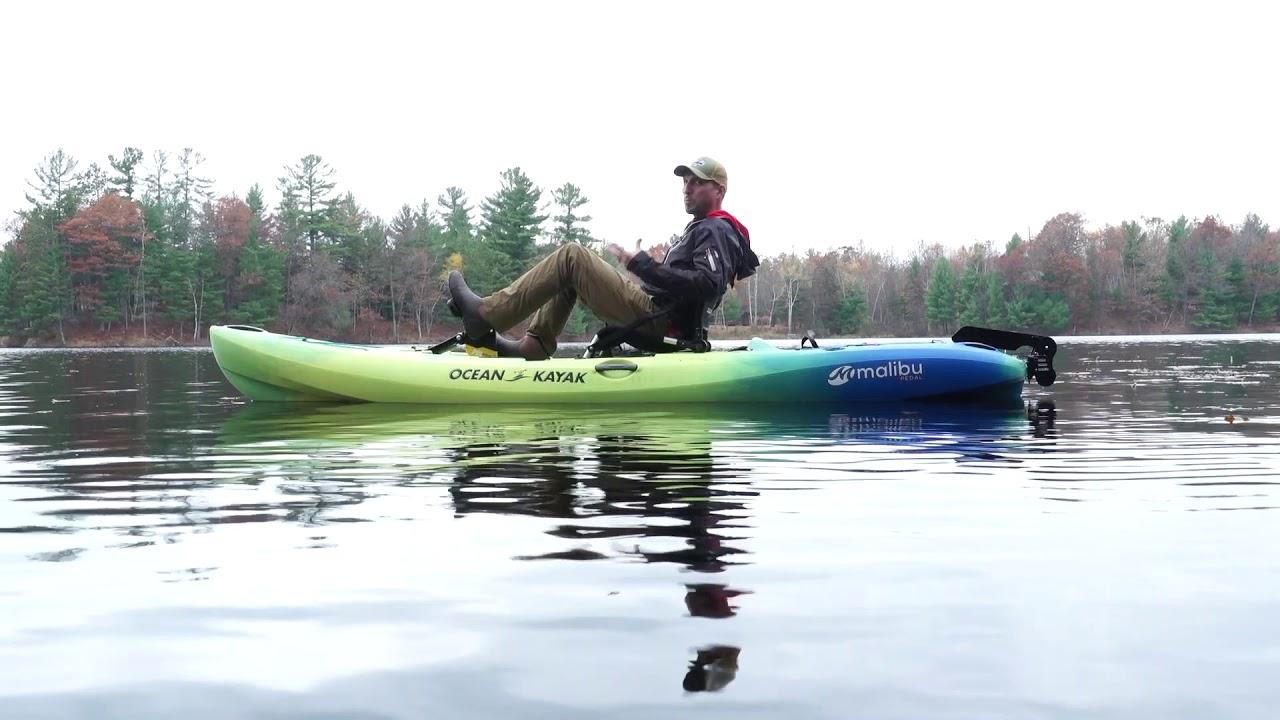 Ocean Kayak : Malibu Pedal Kayak Review