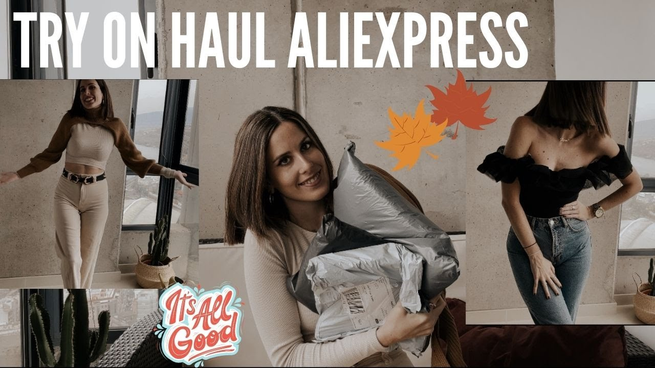 UNBOXING ALIEXPRESS HAUL ROPA // Parte 1 // Clones de ZARA!!!!