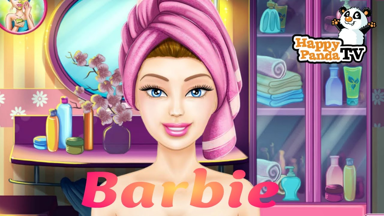 Free online barbie make up games for girls
