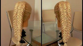 Коса Рыбка пятипрядная. Видео-урок.(Красивая причёска. Плетение. Причёски на каждый день. Косы для школы. Причёски. Косы. Видео-уроки. Идеи. Все..., 2015-08-14T12:39:58.000Z)