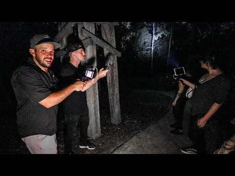 GHOST HUNTING in HAUNTED FOREST at 3AM! (Warning: Incredibly Scary)