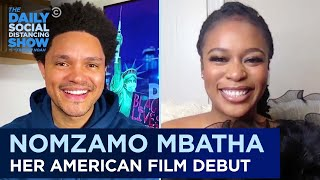 "Nomzamo Mbatha: ""Coming 2 America"" & Adjusting to Life in the U.S. 