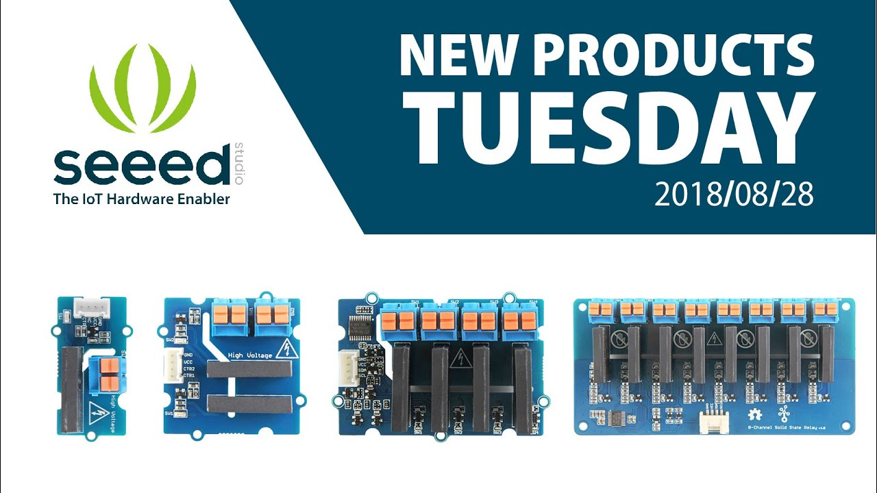 Newproductstuesday All New Grove Solid State Relay Modules Youtube Solidstaterelay Schematic