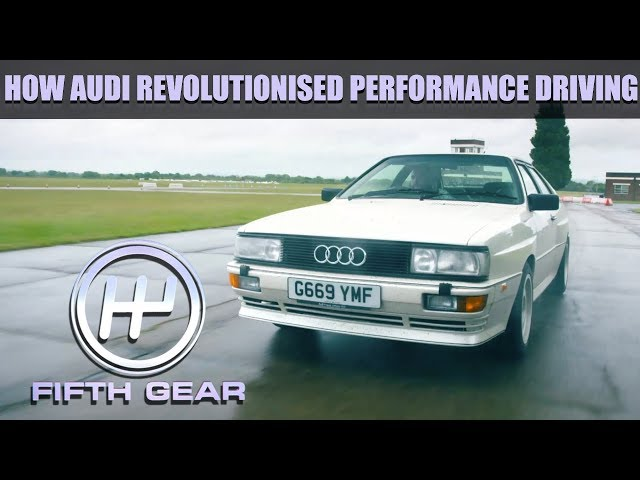 How Audi revolutionised performance driving with their 4 wheel drive system   Fifth Gear