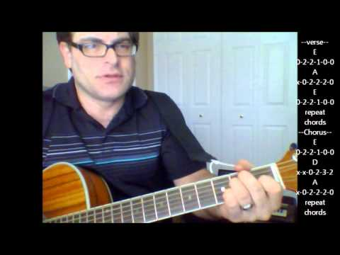 How To Play Drivin My Life Away By Eddie Rabbitt On Acoustic