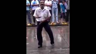 indian street dance during ganesh festival