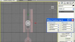 Основа светильника в 3DS Max (8/32)