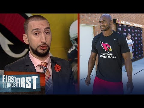 Nick Wright reacts to Adrian Peterson