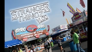 Erie County Fair PART 1 // Opening Day & FOOD // STV 15