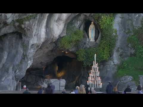Le Sanctuaire de Lourdes en direct